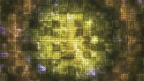 Twinkling Hi-Tech Rounded Diamond Light Patterns 12 stock video footage