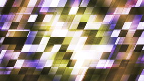 Twinkling Hi-Tech Slant Squared Light Patterns 04 stock footage