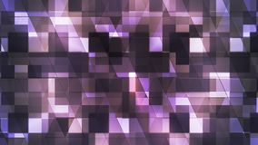 Twinkling Hi-Tech Squared Diamond Light Patterns, Purple, Abstract, Loopable, 4K. Thank you for choosing this Background stock video