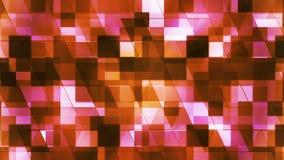Twinkling Hi-Tech Squared Diamond Light Patterns 11 stock video