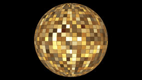 Twinkling Hi-Tech Squares Spinning Globe 03 stock footage