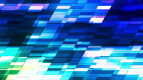 Twinkling Horizontal Slant Hi-Tech Small Bars 07 stock footage