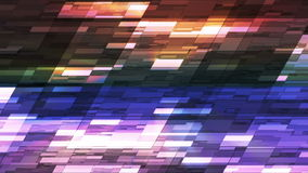 Twinkling Horizontal Slant Hi-Tech Small Bars 17 stock video