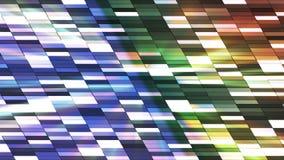 Twinkling Horizontal Slant Hi-Tech Small Bars 24 stock video