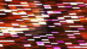 Twinkling Horizontal Slant Hi-Tech Small Bars 27 stock video