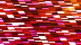 Twinkling Horizontal Slant Hi-Tech Small Bars 23 stock video