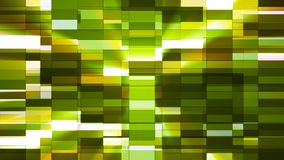 Twinkling Horizontal Small Squared Hi-Tech Bars, Green, Abstract, Loopable, 4K. Thank you for choosing this Background stock footage