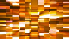 Twinkling Horizontal Small Squared Hi-Tech Bars, Orange, Abstract, Loopable, 4K. Thank you for choosing this Background stock video footage