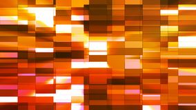 Twinkling Horizontal Small Squared Hi-Tech Bars, Orange, Abstract, Loopable, 4K. Thank you for choosing this Background stock footage