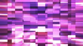 Twinkling Horizontal Small Squared Hi-Tech Bars, Pink, Abstract, Loopable, 4K. Thank you for choosing this Background stock video