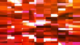 Twinkling Horizontal Small Squared Hi-Tech Bars, Red, Abstract, Loopable, 4K. Thank you for choosing this Background stock video footage