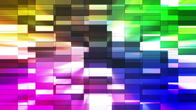 Twinkling Horizontal Small Squared Hi-Tech Bars 36 stock footage