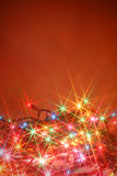 Twinkling lights background Stock Photos