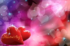 Twinkling lights heart Royalty Free Stock Images