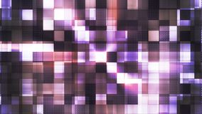 Twinkling Metal Hi-Tech Squared Light Patterns, Purple, Abstract, Loopable, 4K. Thank you for choosing this Background stock video footage