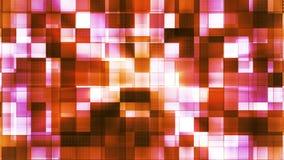 Twinkling Metal Hi-Tech Squared Light Patterns 04 stock footage