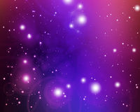 Twinkling stars Stock Images