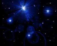 Twinkling stars Stock Photography