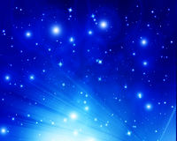 Twinkling stars Royalty Free Stock Images