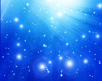 Twinkling stars stock photo