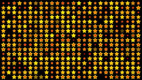 Twinkling stars. Background of twinkling stars animation stock video footage