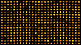 Twinkling stars. Background of twinkling stars animation stock footage