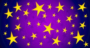 Twinkling Stars Sky Background Royalty Free Stock Photos