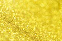 Twinkly golden Royalty Free Stock Photo