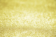 Twinkly gouden L Stock Afbeelding
