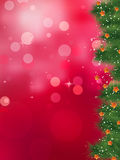 Twinkly lights and stars christmas. EPS 8 Stock Photos