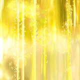 Twinkly Stars and Lights background Stock Photography