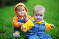 Twins Royalty Free Stock Photos