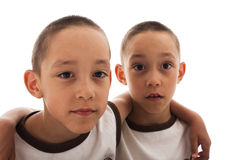 Twins Royalty Free Stock Image