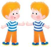 Twins vector illustration