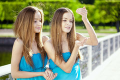 Twins Royalty Free Stock Photo