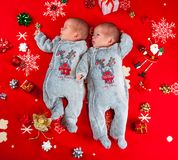 Twins boys. Stock Photo