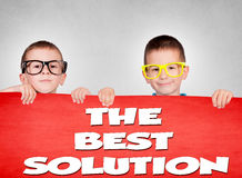 Twins brothers Royalty Free Stock Images