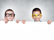 Twins brothers Royalty Free Stock Photography