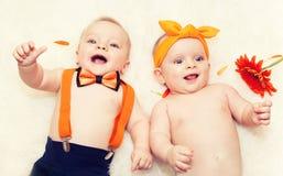 Twins Royalty Free Stock Photos