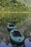 Twins kayak boat Royalty Free Stock Photo