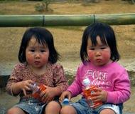 Twins, Kyoto, Japan Stock Photography