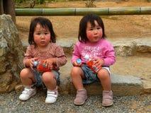 Twins, Kyoto, Japan Royalty Free Stock Image