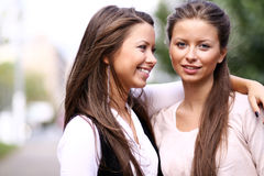 Twins of sister Royalty Free Stock Image