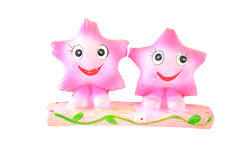 Twins star christmas toy Stock Images