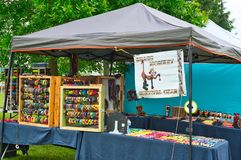 Festival booth cute display Royalty Free Stock Photo