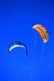 Twinskin et cerf-volant de LEU Images libres de droits