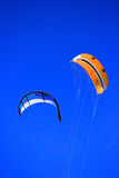 Twinskin and LEI kite Royalty Free Stock Images