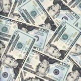 Twintig dollarsachtergrond Stock Fotografie