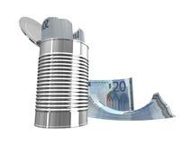 Twintig euro Royalty-vrije Stock Afbeelding