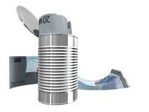 Twintig euro Stock Afbeelding